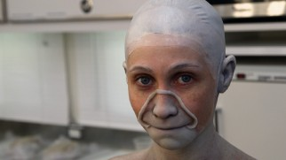 "A peripheral presence in the film, Bonnie Morgan is all over the bonus features, particularly ""Resurrecting the Dead"" which details her make-up transformation into Samara."