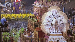 "Footage of actual Carnival festivities features in ""The Real Rio."""
