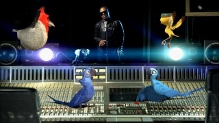 "Taio Cruz is joined by some CG friends in his ""Telling the World"" music video."
