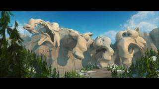 "Though it should be, Blue Sky's short ""Scrat's Continental Crack-Up"" isn't designated a bonus feature or even accessible by menu."