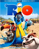 Rio: Blu-ray + DVD + Digital Copy combo pack cover art -- click to buy from Amazon.com