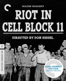 Riot in Cell Block 11: The Criterion Collection Blu-ray + DVD Dual Format Edition cover art -- click to buy from Amazon.com