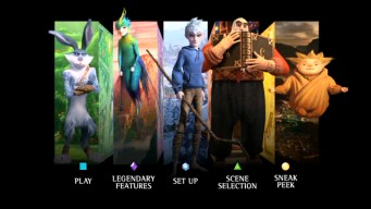 Rise of the Guardians Bluray  DVD Review