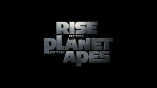"All three ""Rise of the Planet of the Apes"" trailers conclude with some version of this steely title logo."