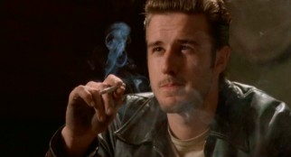 Years before promoting 1-800-Call-ATT, David Arquette blew his own smoke rings as the 1950s greaser Dude.
