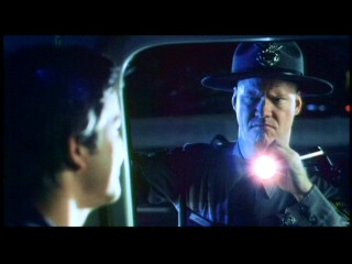 Jim Gaffigan plays a strange state trooper who pulls over Josh in this deleted scene.