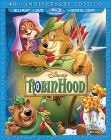 Robin Hood: 40th Anniversary Edition Blu-ray + DVD combo pack cover art -- click for larger view