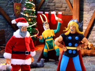 Why would Santa not bring a gift to Thor? Blame Loki!