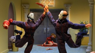 "Michael Myers and Jason become BFFs in this ""Robot Chicken"" sketch."