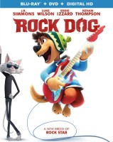 Rock Dog: Blu-ray + DVD + Digital HD combo pack cover art -- click to buy from Amazon.com