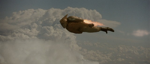 Come fly with the Rocketeer!