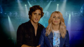 "Young leads Diego Boneta and Julianne Hough host the various parts of ""Behind the Scenes: Defining a Decade."""