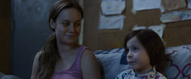 "In ""Room"", a mother (Brie Larson) and her young son (Jacob Tremblay) are held captive in an 11' x 11' room for years."
