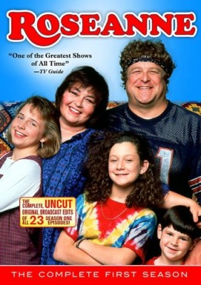 Roseanne: The Complete First Season DVD cover art -- click to buy from Amazon.com