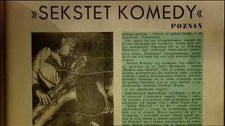 "An article discusses Krzysztof Komeda's Sekstet Komedy in ""Komeda Komeda"", but it's all Polish to me."