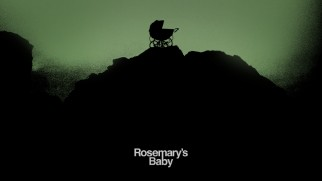 A central swatch of the poster/cover art's carriage becomes the Blu-ray's menu accompanied by Rosemary's lullaby.