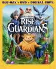 Rise of the Guardians: Blu-ray + DVD + Digital Copy cover art -- click for press release.