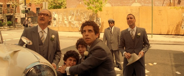 "The climax of ""The Royal Tenenbaums"" brings the family together for an in-house wedding that is not to be."