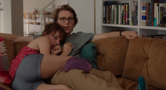 After some distance created concern, Calvin (Paul Dano) writes Ruby Sparks (Zoe Kazan) to be more affectionate and dependent.