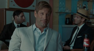 Wealthy American businessman Hal Sanderson (Aaron Eckhart) lends his help with expectations.
