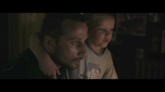 Ali (Matthias Schoenaerts) and Sam (Armand Verdure) do a bit of father-son computing in this deleted scene.