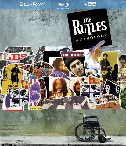 The Rutles Anthology Blu-ray + DVD cover art -- click to buy from Amazon.com