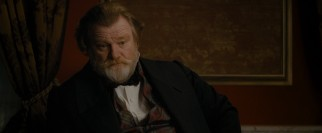 Captain Hamilton (Brendan Gleeson) isn't much of an Edgar Allan Poe fan.