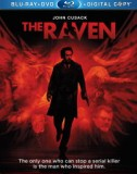The Raven: Blu-ray + DVD + Digital Copy combo pack cover art -- click to buy from Amazon.com