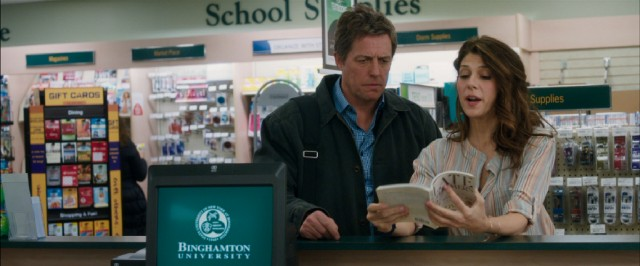 "At the school bookstore where she works, middle-aged Binghamton University undergraduate Holly Carpenter (Marisa Tomei) shows to her screenwriting teacher (Hugh Grant) examples of life's ""late bloomers."""