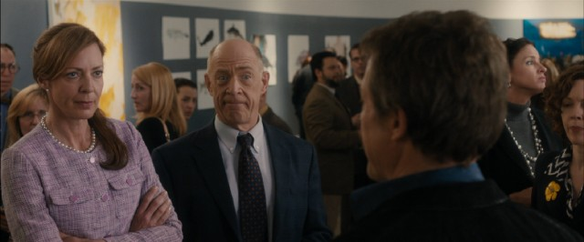English department chair Dr. Lerner (J.K. Simmons) remains impartial, while Jane Austen-loving scholar Mary Weldon (Allison Janney) takes a strong and immediate dislike to her Hollywood-seasoned new colleague.