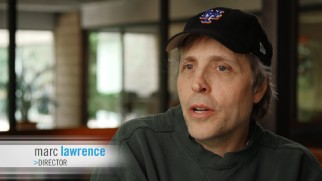 Marc Lawrence rocks a New York Mets hat while discussing the movie on which he is oddly not officially credited.