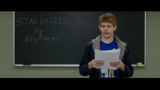 Students like the Star Wars-obsessed Billy Frazier (Andrew Keenan-Bolger) read from their finished screenplays in this deleted scene.