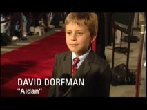 "David Dorfman dials down the creepy kid act in his brief red carpet contribution to ""Cast and Filmmaker Interviews."""