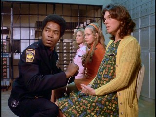 "Georg Stanford Brown and his then less famous wife of the time Tyne Daly are bank vault hostages together in ""Time Lock."""