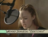 "Ashley Johnson, perhaps best known as the aged daughter Chrissy from the final two seasons of ""Growing Pains"", voices Gretchen Grundler in the TV and movie versions of ""Recess."""