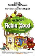 """Robin Hood"" (1973) movie poster - click to buy from MovieGoods.com"