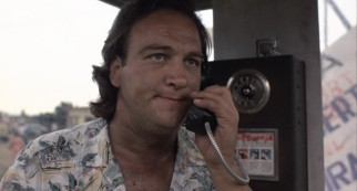 As his brother might have had he not died, James Belushi was game to be a comedic presence in a dramatic film.