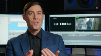 Director Brad Peyton is full of enthusiasm and praise in the audio commentary and making-of featurettes.