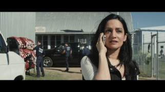 Ambitious journalist Serena Johnson (Archie Penjabi) gets a call in this short deleted scene.
