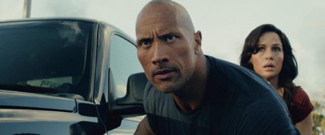 "Do you smell who The Rock (Dwayne Johnson) is saving? His daughter and no one else in ""San Andreas."""