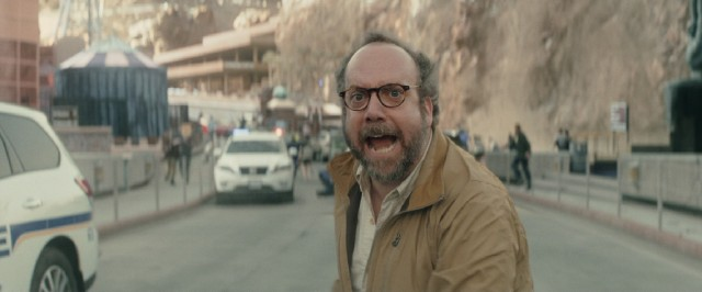 Arthouse fixture Paul Giamatti collects a paycheck as seismology expert Lawrence Hayes.
