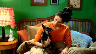 At the end of most episodes, Sarah Silverman reflects on the lessons she learned in the company of her dog Doug.