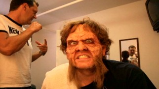Steve Agee shows off his beastly make-up in one of Season 3's Odds 'n Ends behind-the-scenes shorts.