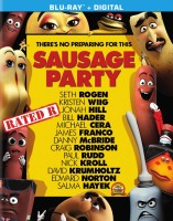 Sausage Party: Blu-ray + Digital HD cover art -- click to buy from Amazon.com
