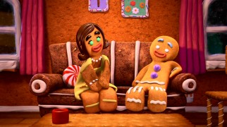 "Gingy's freshly-baked girlfriend Sugary gets too attached too quickly in ""The Bride of Gingy."""