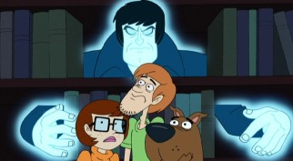 "Velma, Shaggy, and Scooby get a fright in ""Be Cool, Scooby-Doo!"""