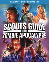 Scouts Guide to the Zombie Apocalypse Blu-ray + DVD + Digital HD combo pack cover art - click to buy from Amazon.com