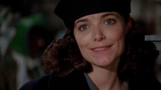 Frank gets a welcome blast from the past in the reappearance of old girlfriend Claire Phillips (Karen Allen).