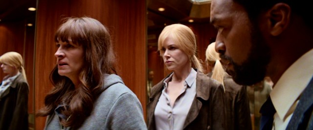 "Three colleagues (Julia Roberts, Nicole Kidman, and Chiwetel Ejiofor) consider taking justice into their own hands in ""Secret in Their Eyes."""