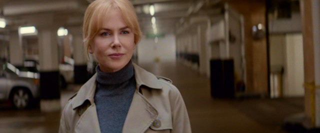 "District attorney Claire Sloane (Nicole Kidman) takes to a parking garage in ""Secret in Their Eyes."""